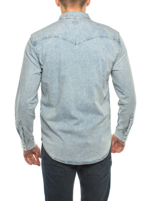 Barstow western shirt green cast lt 3 - invisable
