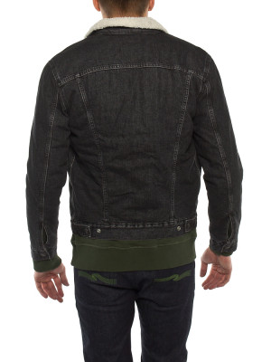 Sherpa trucker jacket fegin 3 - invisable