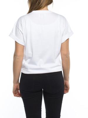 002 Peace t-shirt white black 3 - invisable