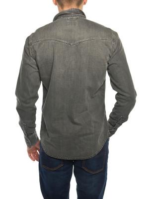 Jonis shirt shimmering grey 3 - invisable