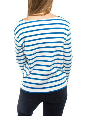 Damas longsleeve blue stripe 3 - invisable