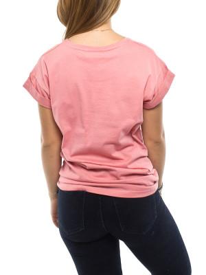 Alva shirt branded apricot 3 - invisable