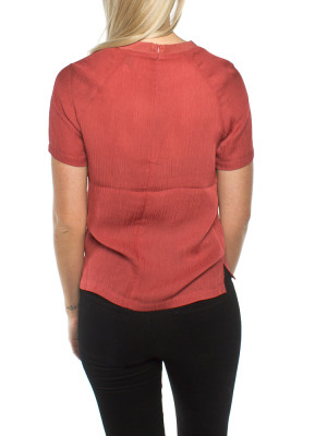 Carin blouse mineral red 3 - invisable