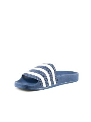 Adilette sandals adiblue/wht 3 - invisable
