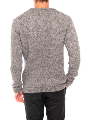 Zapitown pullover argent chine 3 - invisable