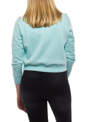 Side seam sweater blue 3 - invisable
