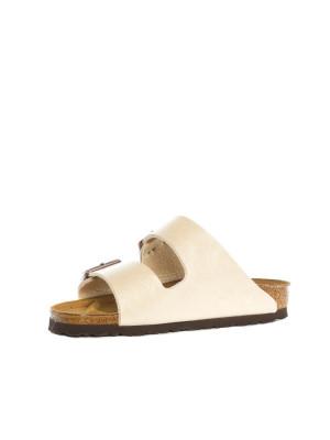 Arizona sandals graceful pearl white 3 - invisable