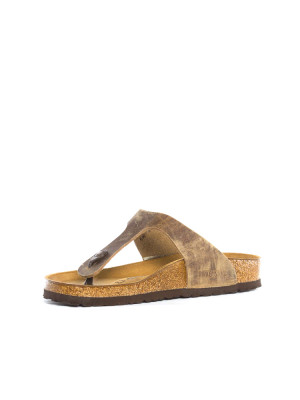 Gizeh sandals tabacco brown 3 - invisable