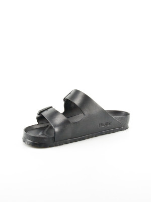 Arizona sandale gummi men black 3 - invisable