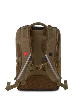 Cubik small backpack green 3 - invisable