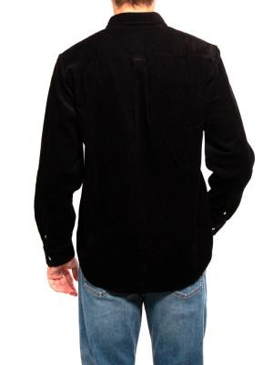 Madison cord shirt black 3 - invisable