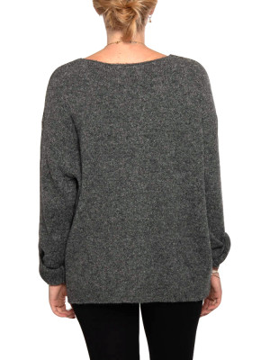 Mille pullover dk grey 3 - invisable