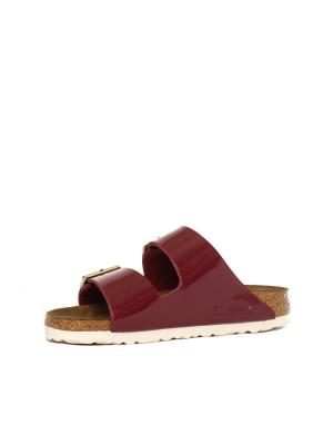 Arizona sandals patent bordeaux 3 - invisable