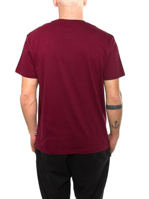 Iconic t-shirt marroon 3 - invisable