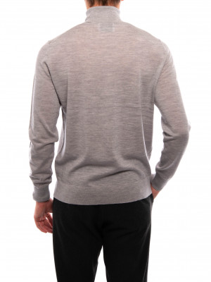 Flemming pullover turtle grey mel 3 - invisable