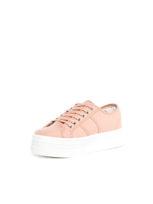 Blucher lona shoes maquillaje rose 3 - invisable