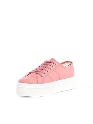 Blucher lona shoes berry 3 - invisable