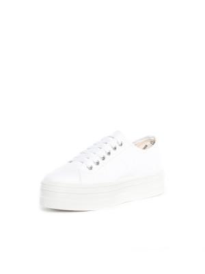 Blucher lona shoes blanco 3 - invisable
