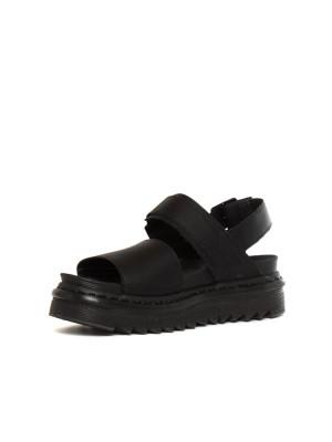 Voss sandals black 3 - invisable