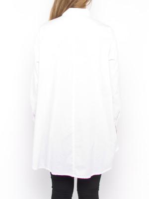 Nuria blouse white 3 - invisable