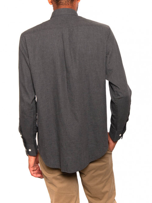 Levon shirt bd dk grey