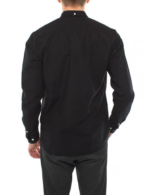 Anton oxford shirt black