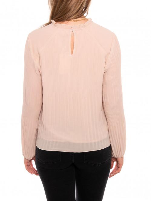 Alie blomma blouse pale