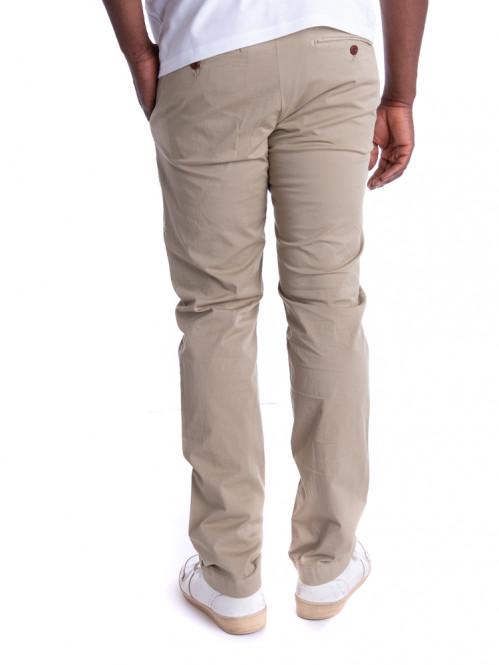 Clifton slim trousers green bark