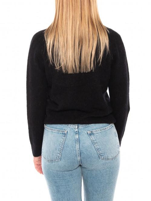 Nor short cardigan black