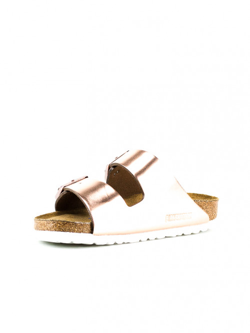 Arizona sandals metallic copper