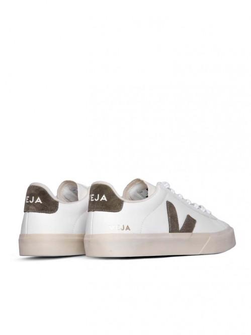 Campo sneaker white kaki