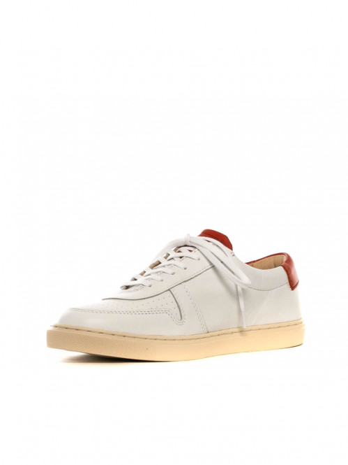 R18 sneaker white red
