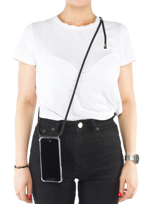 iPhone necklace 6plus black
