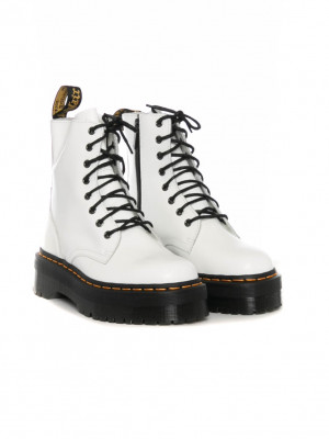 Jadon boots white smooth 4 - invisable