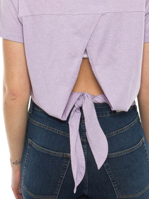Back detail tee purple 4 - invisable