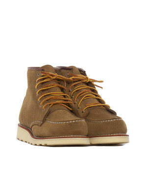 Wmns 6 inch classic moc boots olive mohave 4 - invisable