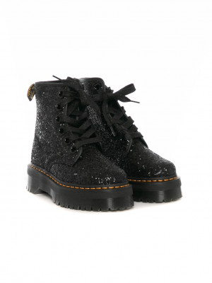 Molly boots glitter black 4 - invisable