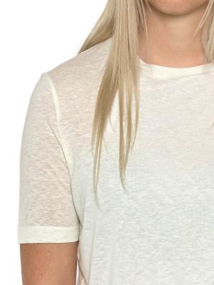 Ulrica t-shirt creme 4 - invisable