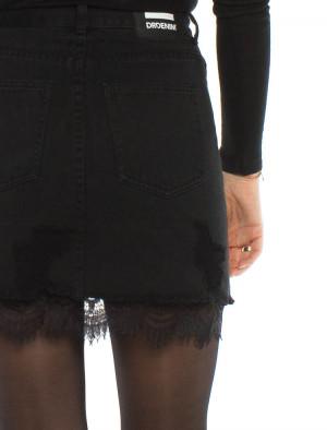 Abella skirt black 4 - invisable