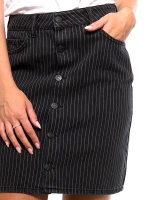 Dani skirt blk stripe 4 - invisable