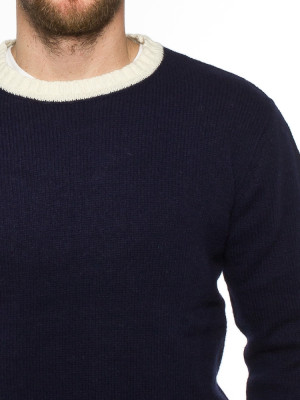 French pullover dk navy 4 - invisable