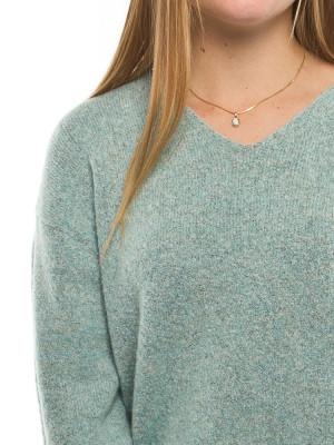 Stine pullover aqua grey 4 - invisable
