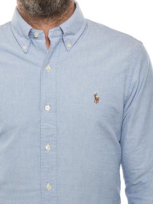 Oxford slim-fit shirt blue 4 - invisable