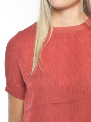Carin blouse mineral red 4 - invisable