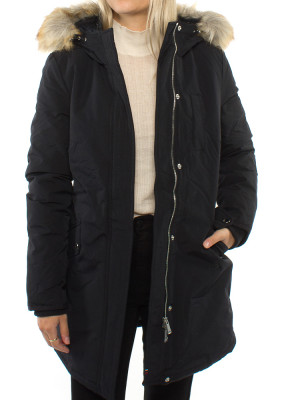 Technical down jacket black 4 - invisable