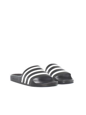 Adilette sandals black 4 - invisable