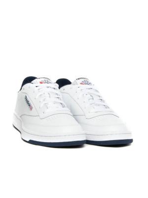 Club C 85 sneaker white navy 4 - invisable