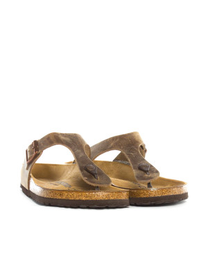 Gizeh sandals tabacco brown 4 - invisable