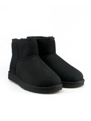 Classic mini boots black 4 - invisable