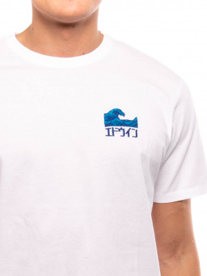 The wave t-shirt white 4 - invisable